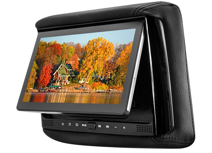 Concept Chameleon Rear Seat Headrest Monitor With HDMI