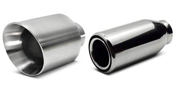 Double Wall Exhaust Tip