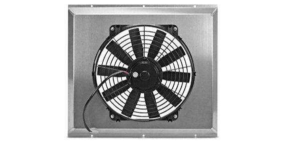 Flex-A-Lite Electric Fan with Aluminum Shroud