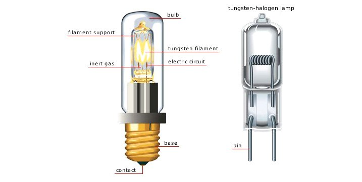 Halogen Bulb Types