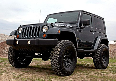 "Jeep Wrangler With 6"" Of Lift With 37"" Tires"
