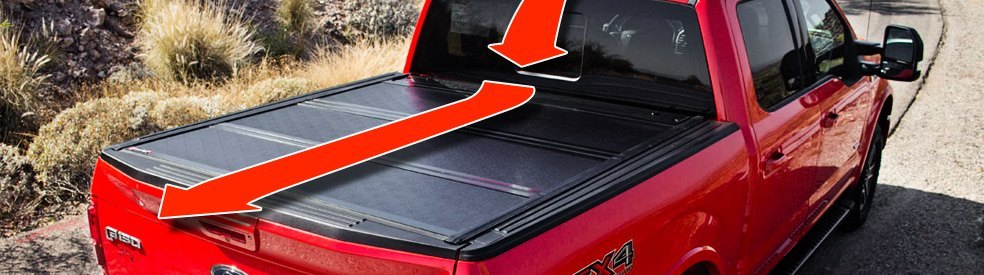 Aerodynamic Flow Of Truck With The Tonneau Cover Installed