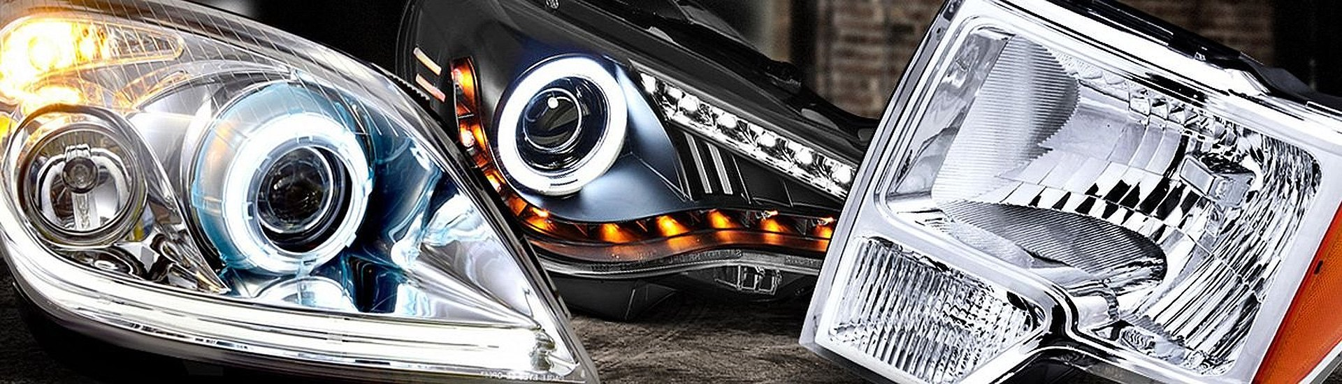 What are the most common aftermarket headlight types ...