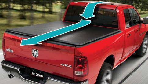Tonneau Cover for Aerodynamics