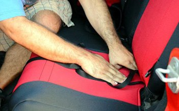 Placing Cover On Seat Bottom