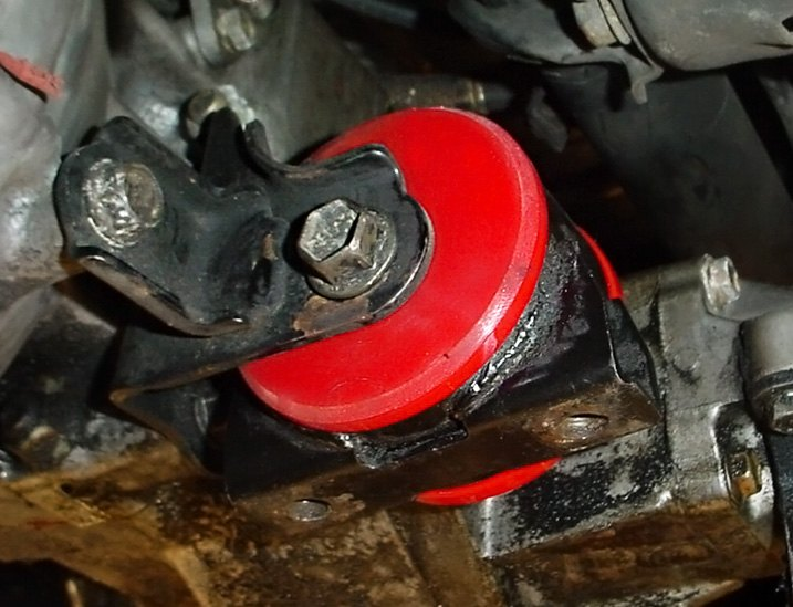 Typical Disconnected Motor Mounts