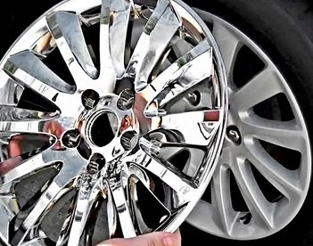 Chrome Plated Wheel Skins
