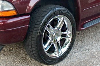 OE Rims With Chrome Finish