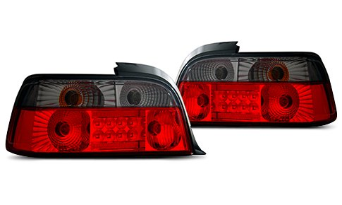 Combined Red-Smoke LED Tail Lights By CG