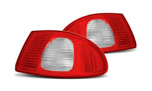 Traditional Red Tail Lights Lens Cover