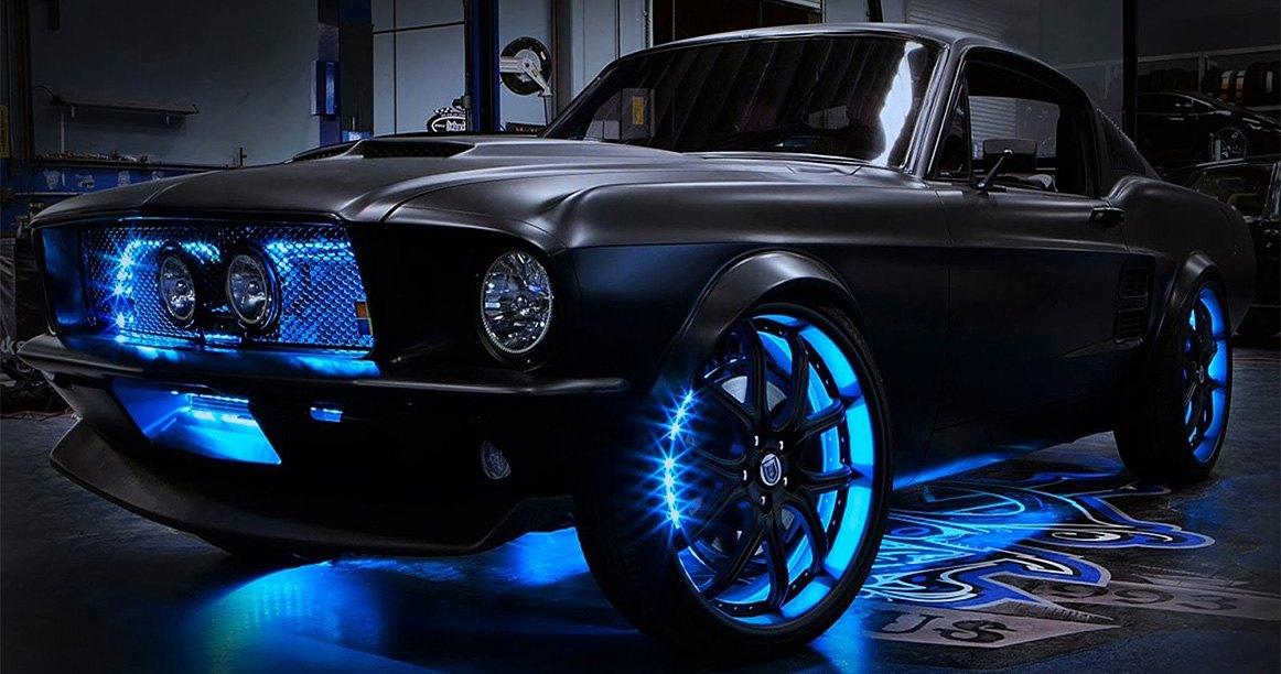 Led Underbody Lights Give Your Ride An Other Worldly Glow