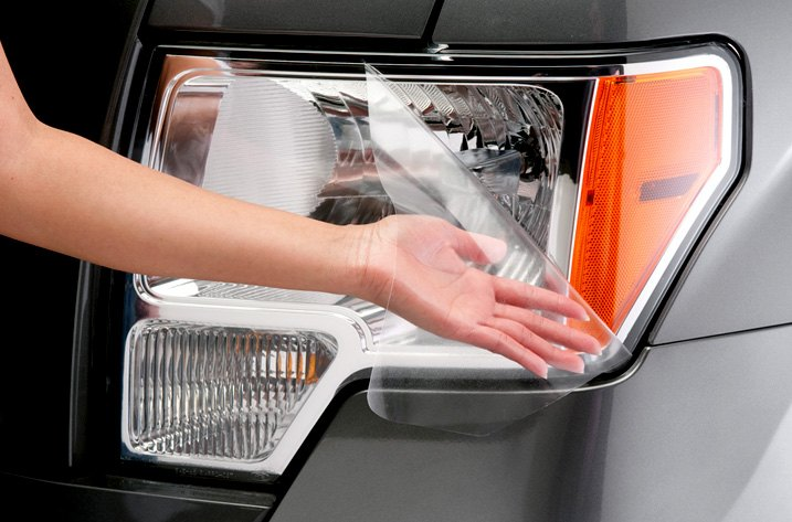 Soft Urethane Film Clear Headlight Covers