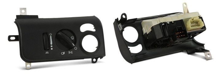 Mopar Dash-Mounted Rotary Headlight Switch