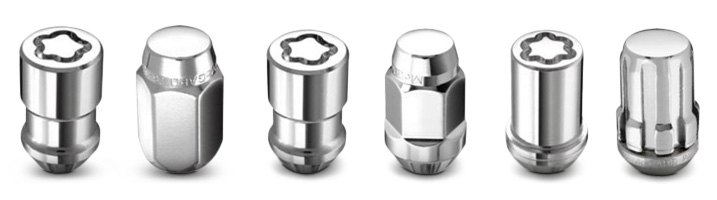 McGard Spline Drive Cone Seat Lug Nut With Locking Lug Nut
