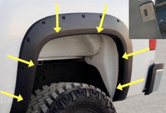 No Drill Fender Flares Are So Easy To Install