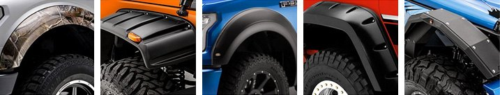 No-Drill Fender Flares Banner