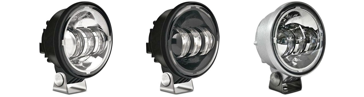 "JW Speakers 4"" Round LED Fog Lights"