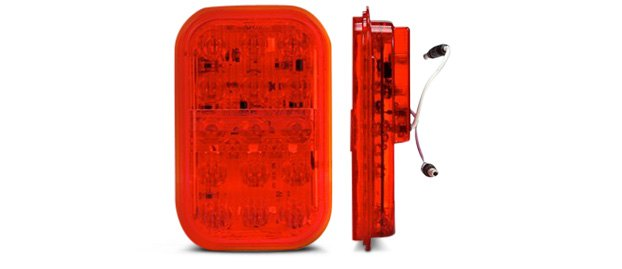 Truck-Lite 45 Series Rectangular Red LED Fog Light