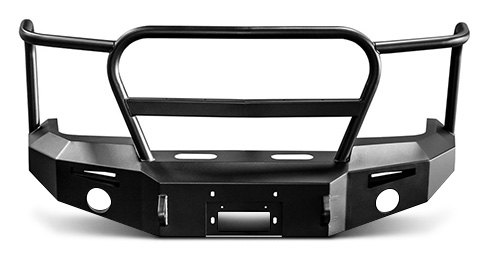 ICI Magnum Front Winch Bumper with Grille Guard