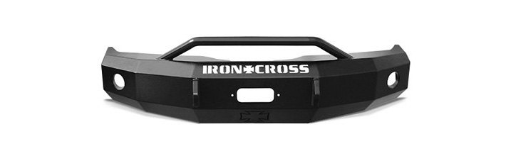 Iron Cross HD Series Front Bumper With Push Bar
