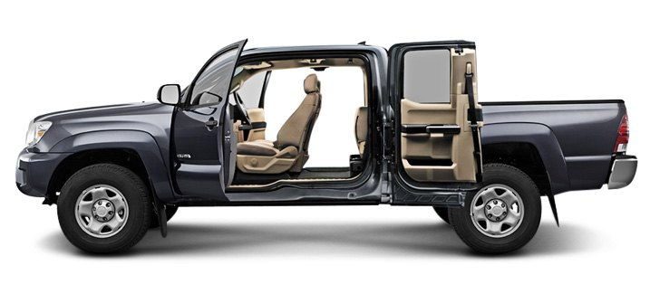 Toyota Tacoma Access Cab Black  sc 1 st  CARiD.com & Pickup Truck Cab And Bed Sizes Are Important When Selecting Accessories
