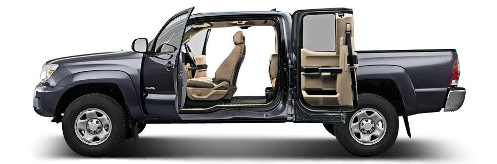 Pickup Truck Cab And Bed Sizes Are Important When