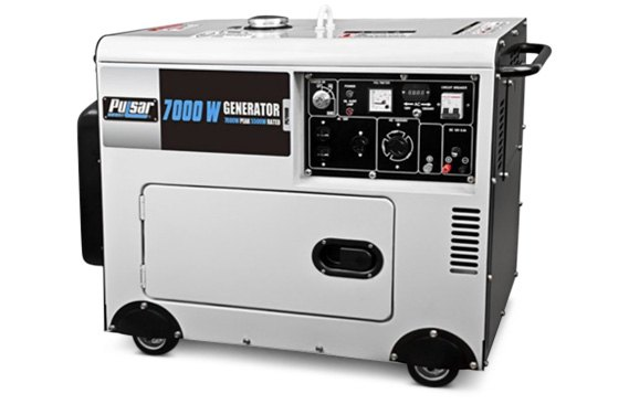 Pulsar 7000W Diesel Generator With Electric Start