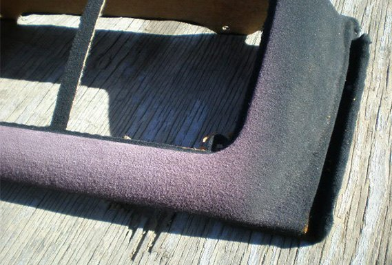 Faded Rear Deck Carpeting