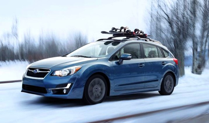 2015 Base Impreza Wagon