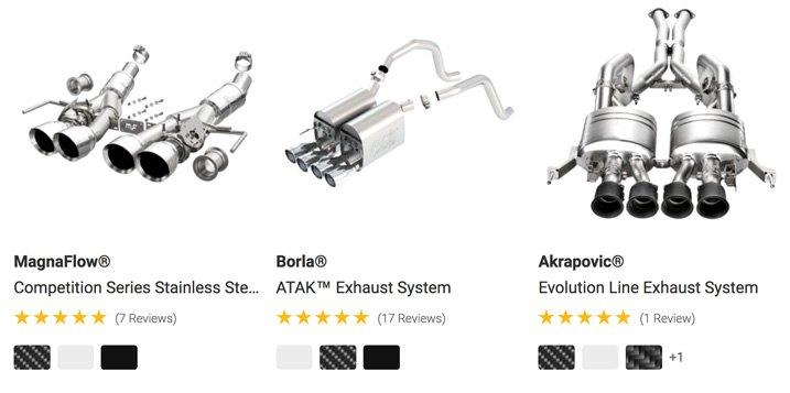 Performance Exhaust Systems Showcased At CARiD
