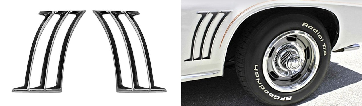 Auto Metal Direct Fender Louvers