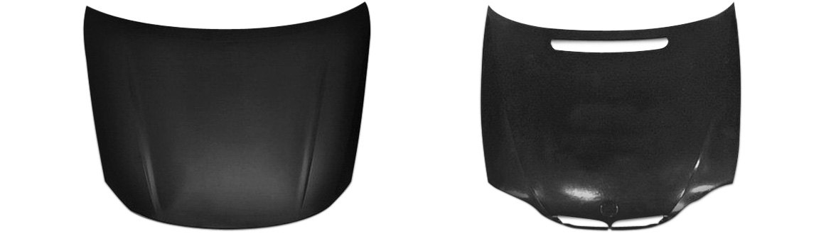 OE Style Replacement Hoods For Import Cars