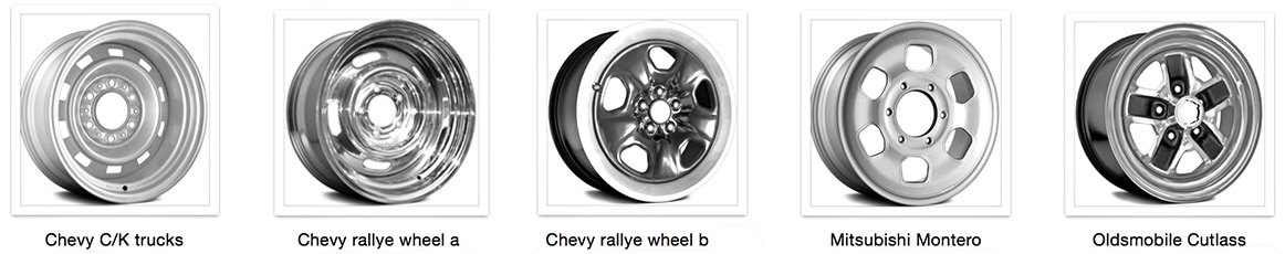 Remanufactured OEM Styled Steel Wheels