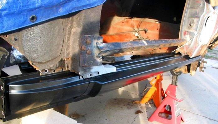 Rotted Rocker Panel