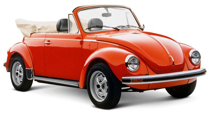1979 Beetle Convertible Equipped With Running Boards