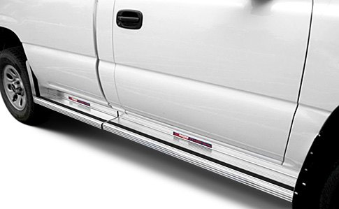 Two Piece Wheel-To-Wheel Running Boards