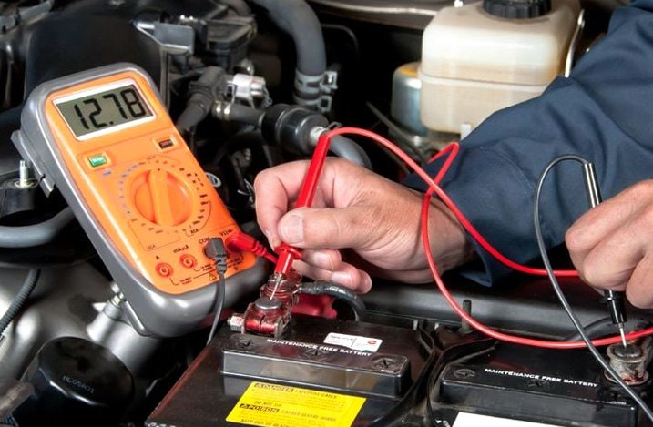 Checking Alternator Voltage Output