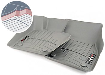 Floor Mat Coverage With Lip