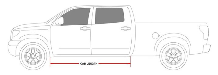 Cab Length Running Boards