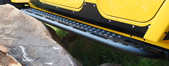 Rocker Bars Set Intended For Off-Road Use