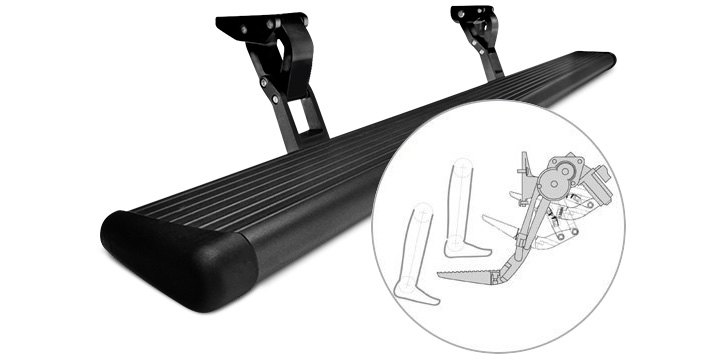 Retractable Power Running Boards