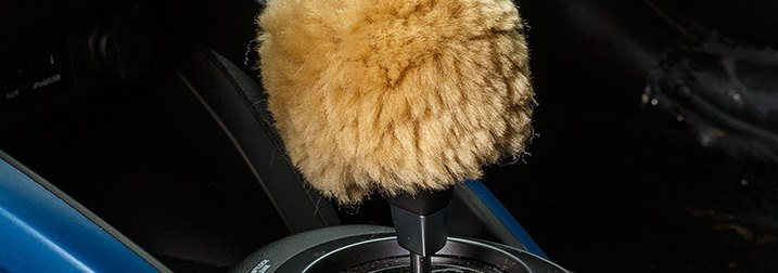 Genuine Sheepskin Shift Knob Covers