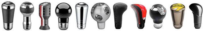 Metal Custom Gearshift Knobs