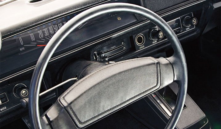 Rubber- and Foam- Wrapped Steering Wheels