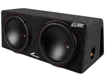 The Audiopipe 12-inch Ported Dual Subwoofer Enclosure - CARiD