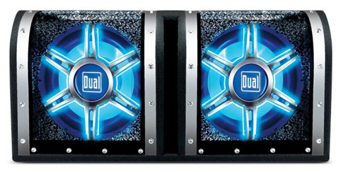 The Dual BP1204 12-inch Dual Bandpass Subwoofer Enclosure - CARiD