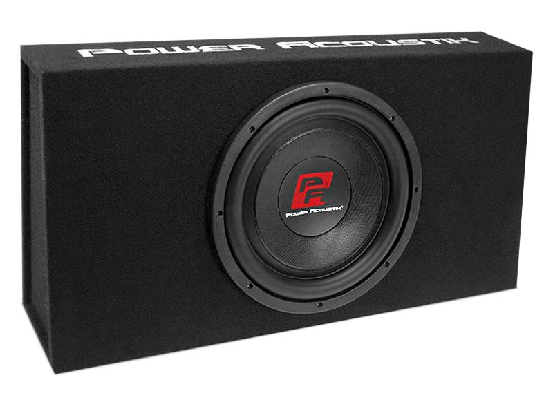 "Power Acoustik 12"" THIN Series Low Profile Sealed 1200W Subwoofer Enclosure"