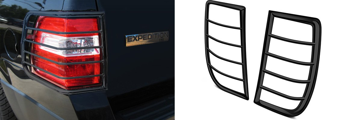Black Tail Light Guards