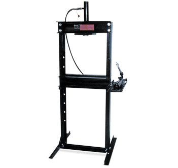 Omega Lift Equipment 12-Ton Press with Hand Pump