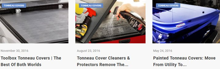 Informative Tonneau Covers Related Articles